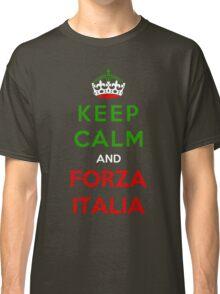 Keep Calm And Forza Italia Classic T-Shirt