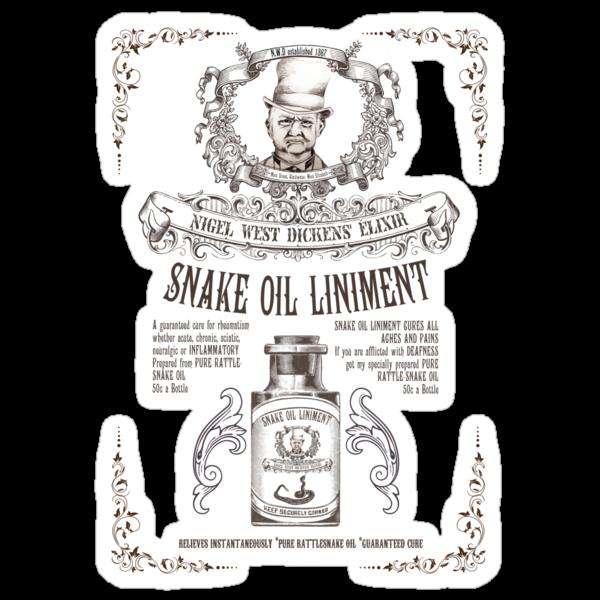 Nigel West Dickens' Elixir by chachipe