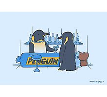 Penguin bar Photographic Print