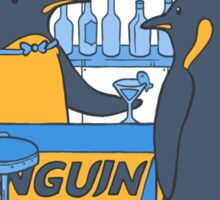 Penguin bar Sticker