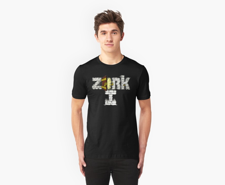 Zork 1 I Retro Style- DOS game fan shirt by hangman3d