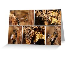 MY HONEY BEES ARE THRIVING! Greeting Card
