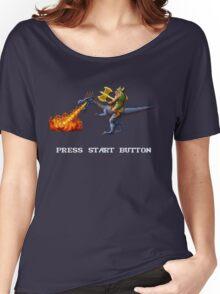 Golden Axe Pixel Style- Retro DOS game fan shirt #2 Women's Relaxed Fit T-Shirt