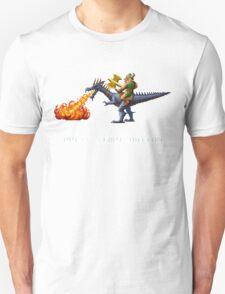 Golden Axe Pixel Style- Retro DOS game fan shirt #2 Unisex T-Shirt