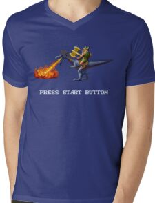 Golden Axe Pixel Style- Retro DOS game fan shirt #2 Mens V-Neck T-Shirt