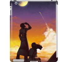 To the moon iPad Case/Skin