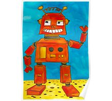 Captain Anuka the robot Poster