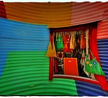 Postcard from La Boca by Peter Hammer