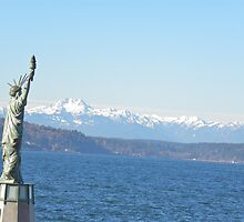 Mini Liberty In Seattle  by tmtphotography