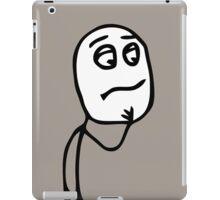 CONFUSED? iPad Case/Skin