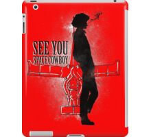 Cowboy in Space iPad Case/Skin