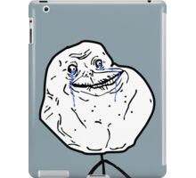 FOREVER ALONE iPad Case/Skin