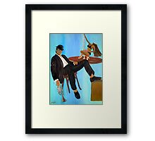 Book Cover Detective Framed Print