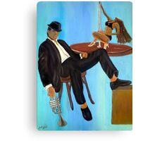 Book Cover Detective Canvas Print