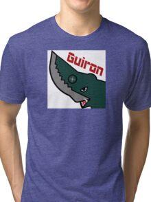 Guiron - White Tri-blend T-Shirt