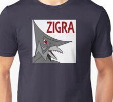 Zigra - White  Unisex T-Shirt