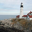 Portland Head Light- Maine by Danielle Davenport