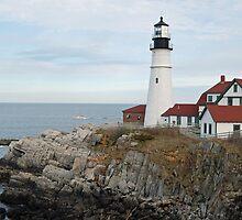 Portland Head Light- Maine by Danielle Loscig