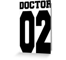 Doctor 02 Greeting Card