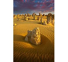 Pinnacles at Dusk Photographic Print