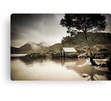 Boatshed - Dove Lake Canvas Print