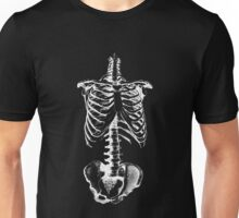 Skeleton Ribs and Hips Unisex T-Shirt