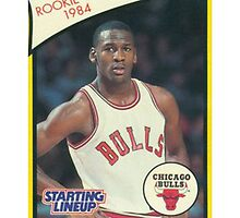 Michael Jordan Rookie Card Sticker by ColbyCo