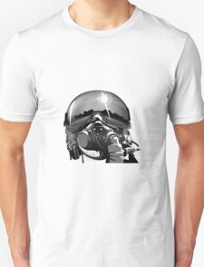 Fighter Pilot Helmet and Mask T-Shirt