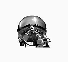 Fighter Pilot Helmet and Mask Unisex T-Shirt