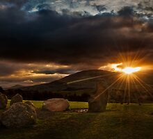 Sunrise at Castlerigg - Lake District by Mark White