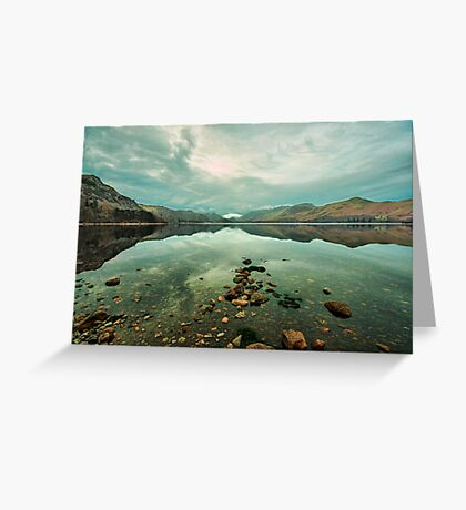 Reflections on Derwentwater Greeting Card