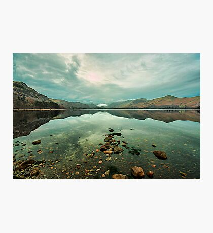 Reflections on Derwentwater Photographic Print