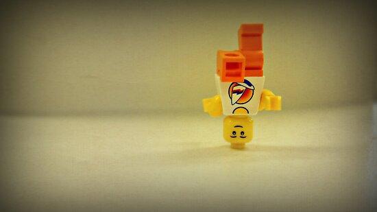 Lego Break Dancer by Jessica Liatys
