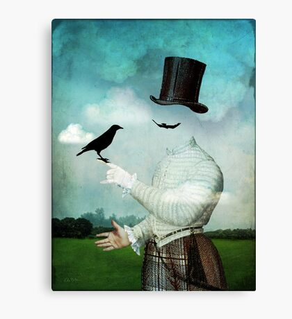 The magician Canvas Print