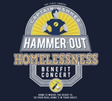Hammer-Out Homelessness Baby Tee