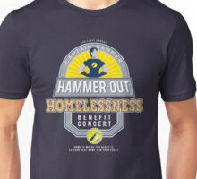 Hammer-Out Homelessness Unisex T-Shirt