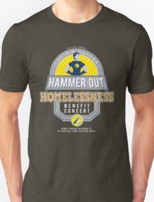 Hammer-Out Homelessness Unisex T-Shirt