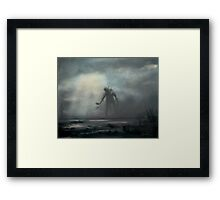 Marsh Walker Framed Print