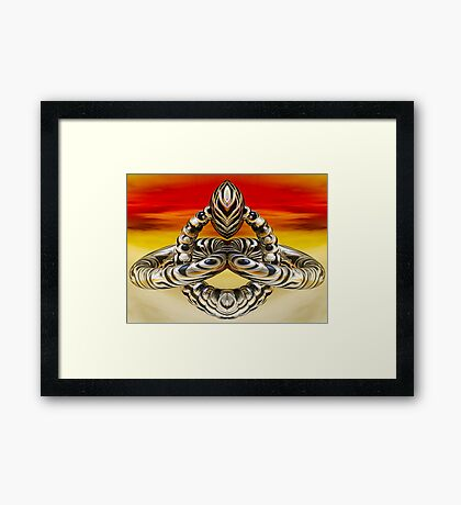 Steal My Soul Framed Print