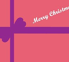 Pink Parcel for Christmas by CreativeEm