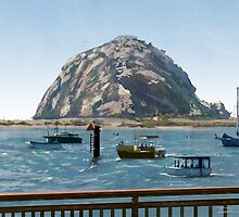 Morro Rock by dsilva