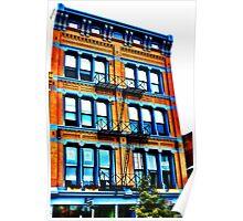 Orange Building - Downtown Cincinnati Poster
