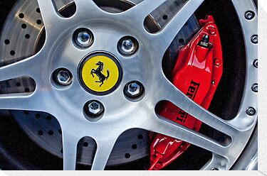 2000 Ferrari Wheel by Jill Reger