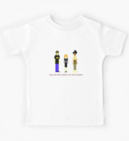Have You Tried Turning it Off and On Again? Kids Tee