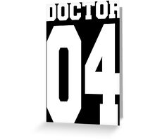 Doctor 04 Greeting Card