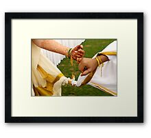 Together Forever Framed Print