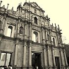 Ruins of St. Paul's Cathedral by Shari Mattox