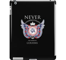 Never Underestimate The Power Of Cousins - Tshirts & Accessories iPad Case/Skin