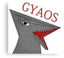 Gyaos - White Canvas Print