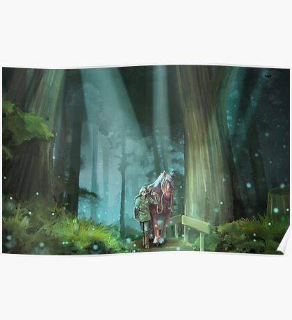 The Zelda Legend Poster